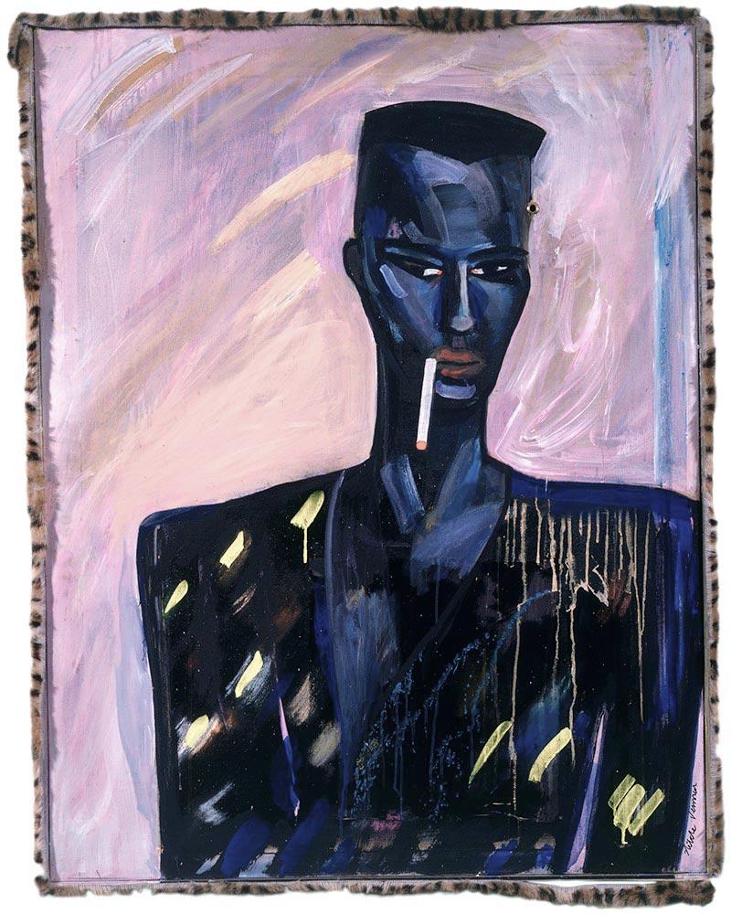 Grace Jones, 136x106, 1983