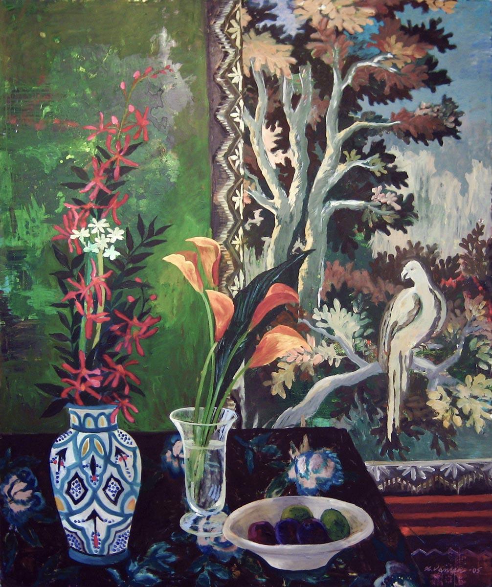 Grønt rom, 180x140, 2008