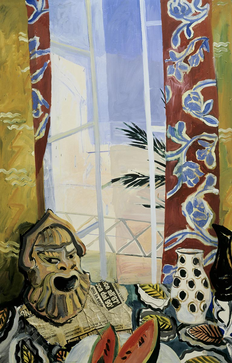 Italiensk oppstilling, 170x110, 1987