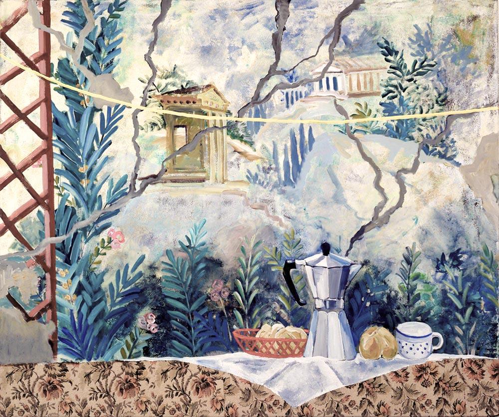 Siste frokost i Pozzuoli, 160x190, 1987