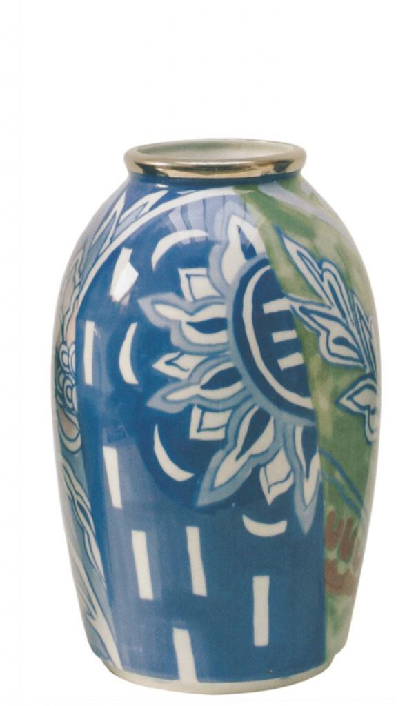 Vase produsert ved Porsgrunnds Porselensfabrikk